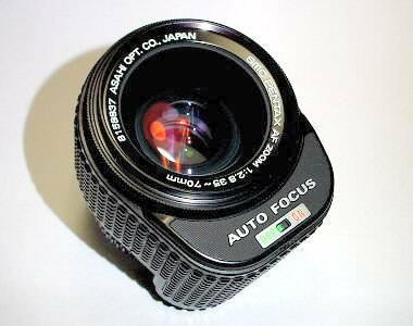 特殊的鏡頭 ? smc PENTAX AF ZOOM 1:2.8/35-70mm